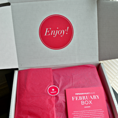 POPSUGAR Must Have Box- February
