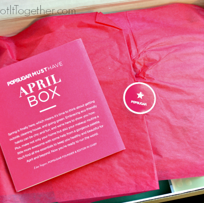 Popsugar Must Have Box- Monthly Boxes April 2014