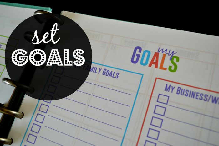 5 Ways to Thrive as a Stay At Home Mom- Set Goals