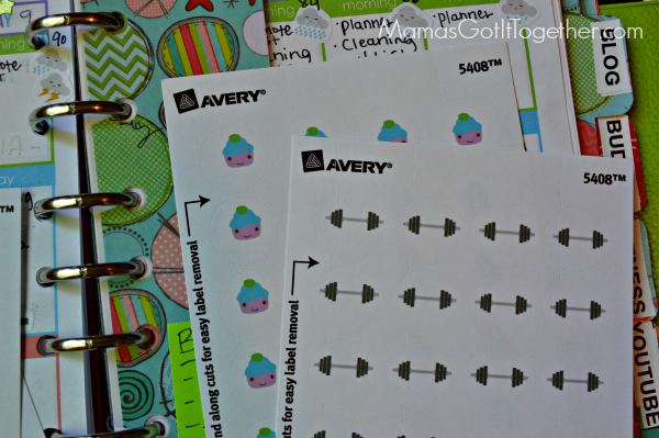 How to make your own planner stickers for your ECLP or Filofax!