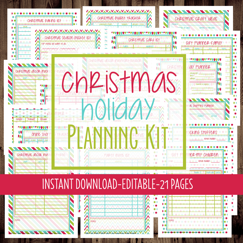 Printable Christmas Planner from Mama's Got It Together