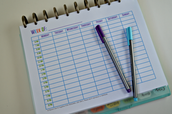Free Printable Calendars For Your Filofax Household