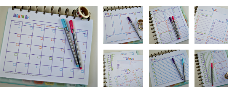 Free Printable Calendars for Your Filofax, Household Binder, Arc Notebook, etc…