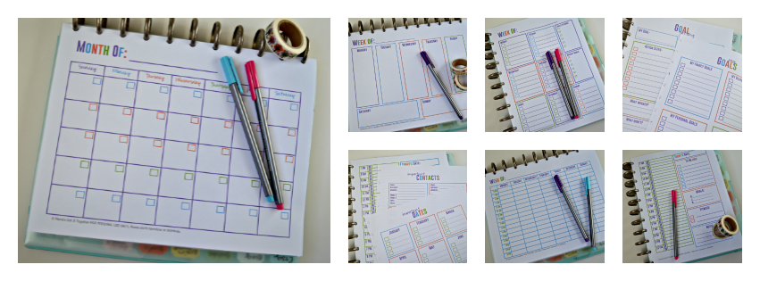 Free Printable Calendars for Your Filofax, Household Binder, Arc ...