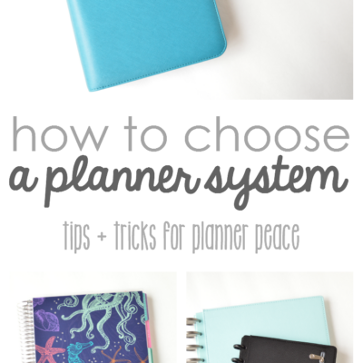 How to Choose a Planner System That Is Best For You