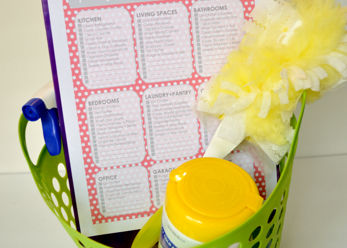 Free Spring Cleaning Checklist Printable- 6 Colors!