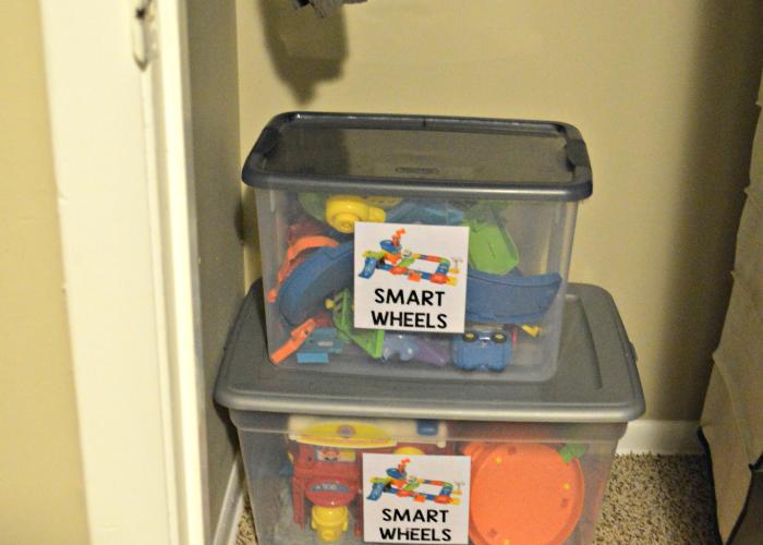DIY Toy Label Tutorial + Toddler Room Organization Tour