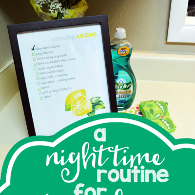 A Simple Night Time Routine for Stress Free Mornings