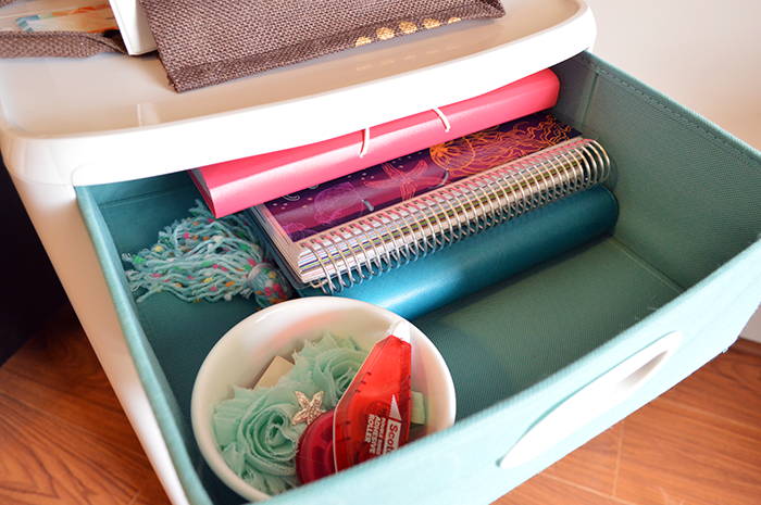How I Organize My Planner Supplies