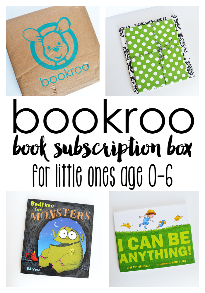 October Bookroo Box - Book Subscription Box for Kids + COUPON