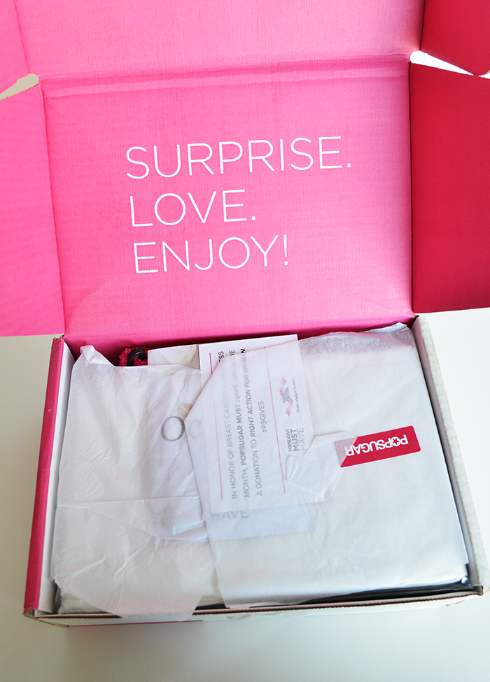 October POPSUGAR Must Have Box Review + Coupon
