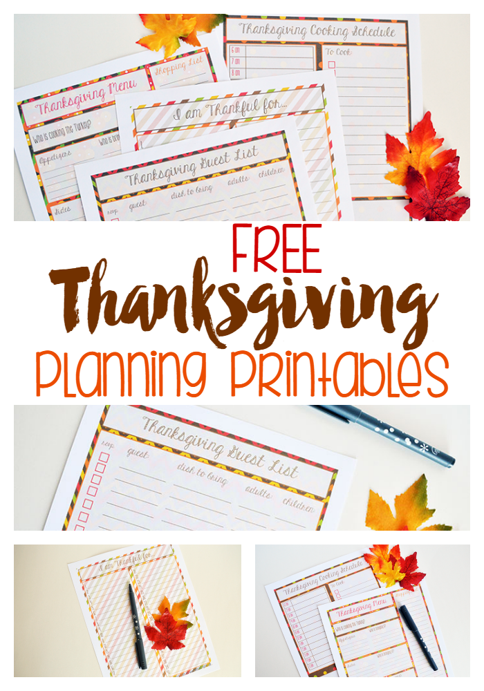 This is a graphic of Gargantuan Thanksgiving Planner Printable