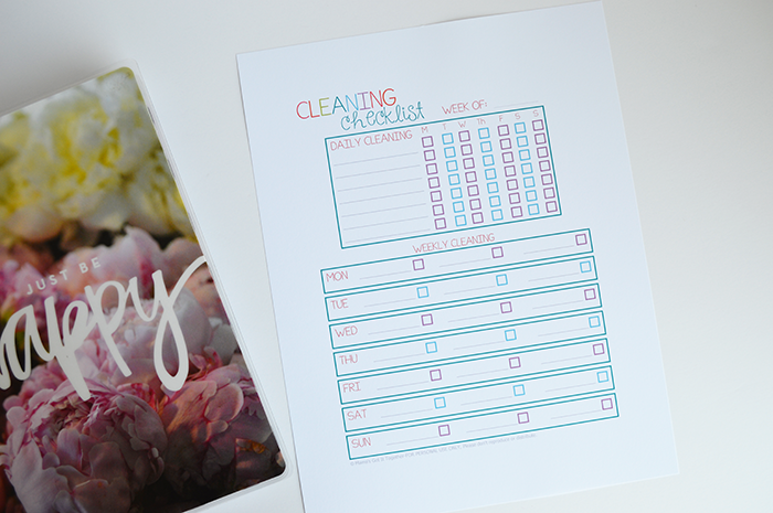 How to resize printables for your happy planner planning inspired