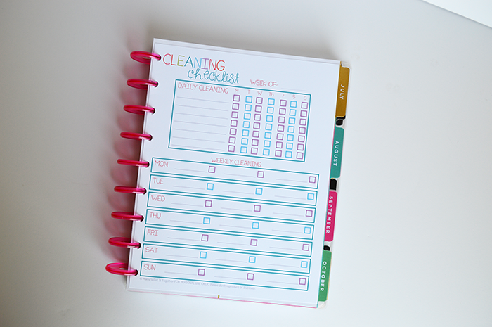 How to Resize Printables for your Happy Planner