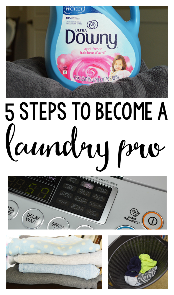 5 Tips to Become a Laundry Pro