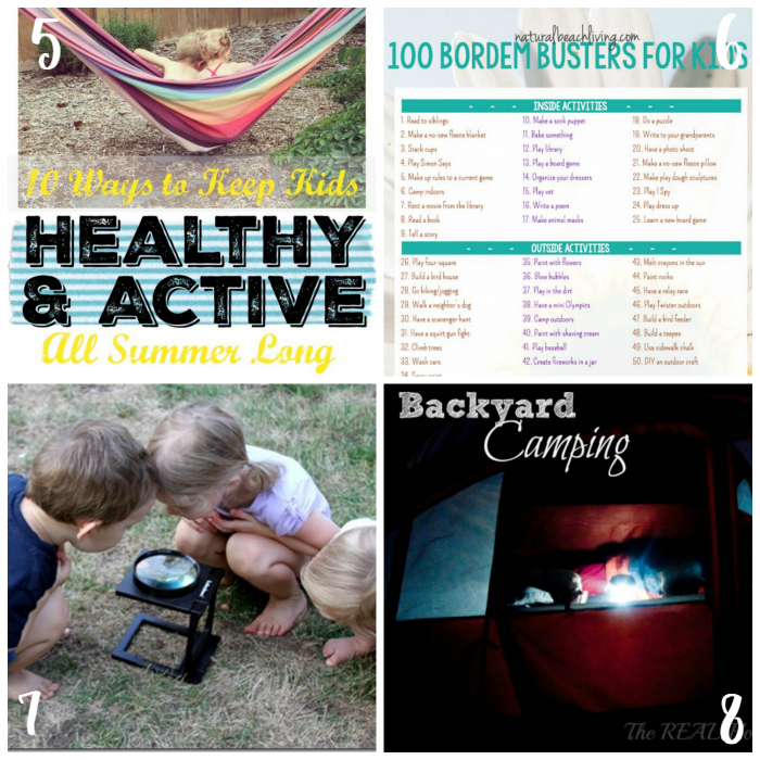 20 Summer Activities for Kids + Free Summer Bucket List Printable
