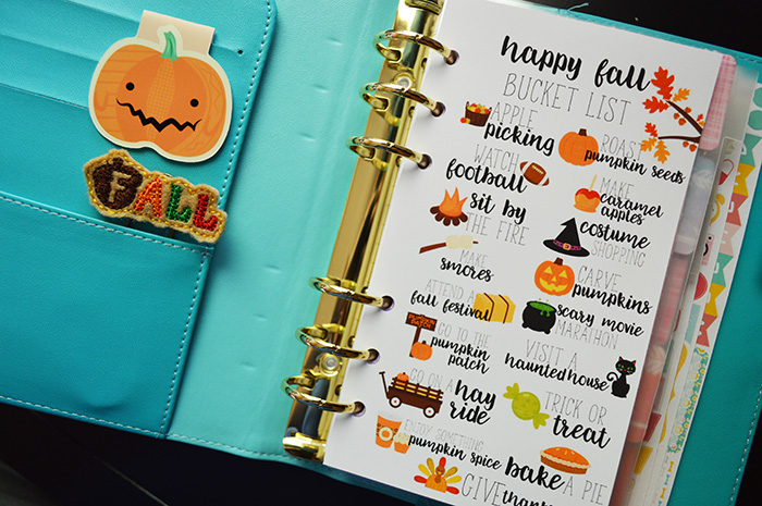 Free Fall Bucket List Printable- Many Sizes!
