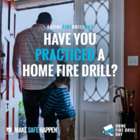 Home Fire Drill Day – Fire Safety with Nationwide