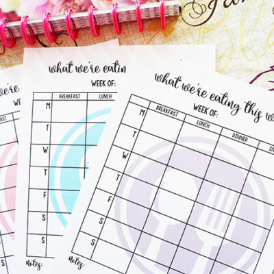 3 Meal Planning Hacks for Busy Moms + Free Printable