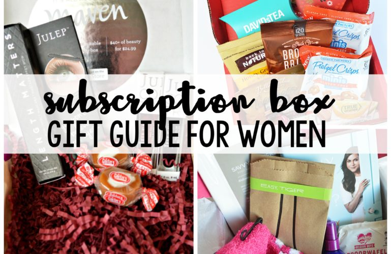 My Favorites – Subscription Box Gift Ideas for Women