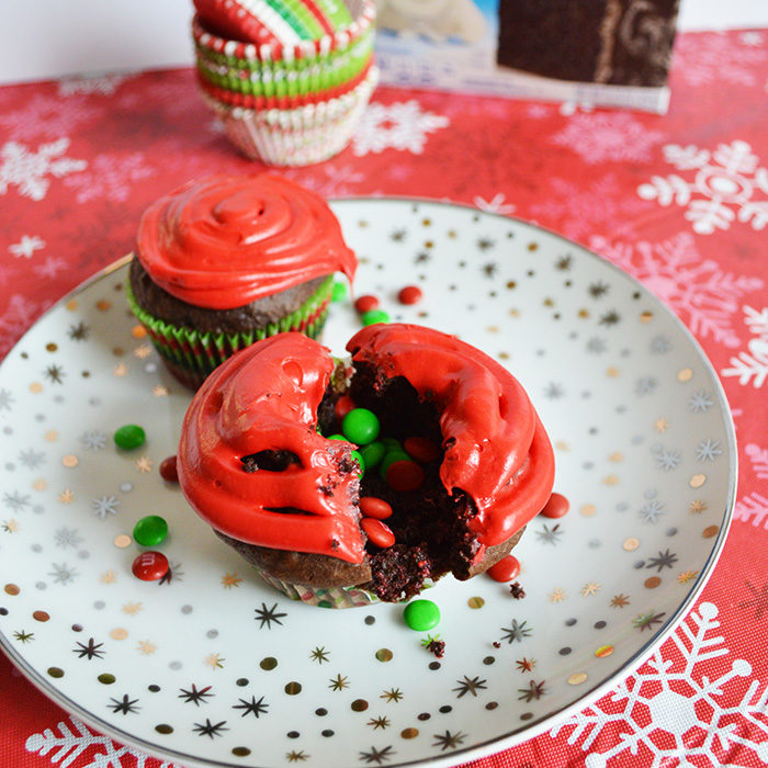 M&M'S® Cupcakes, Two Ways!