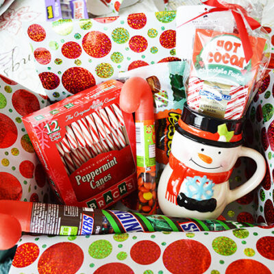 How To Make a Christmas Care Package for the Military or Family Far Away