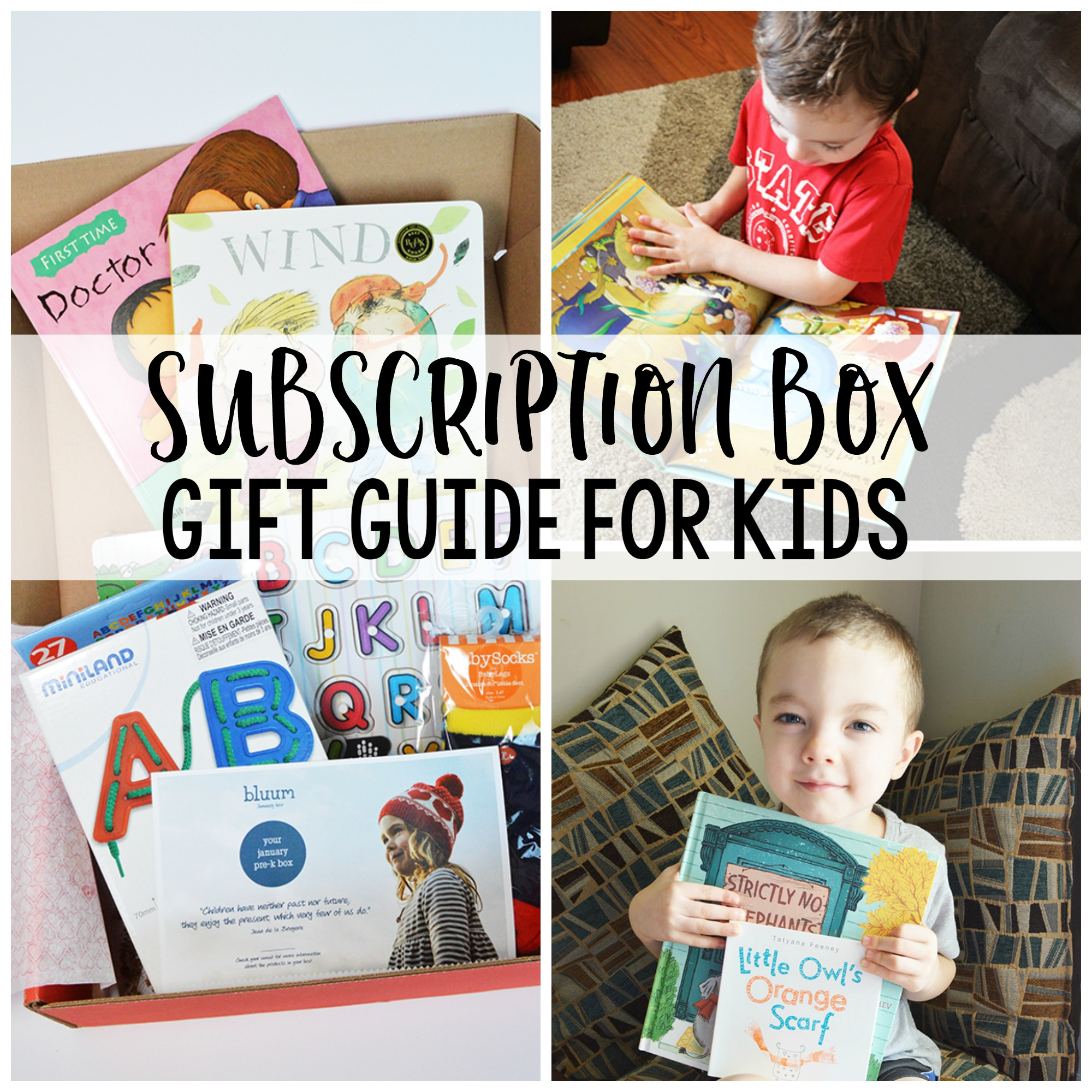 The Gift That Keeps On Giving - Subscription Box Gift Ideas for Kids