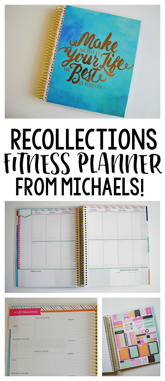 The Recollections Fitness Planner - I Am In LOVE!