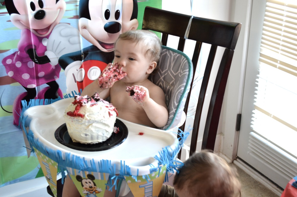 Our Joint Mickey Mouse Birthday Party with Oriental Trading!