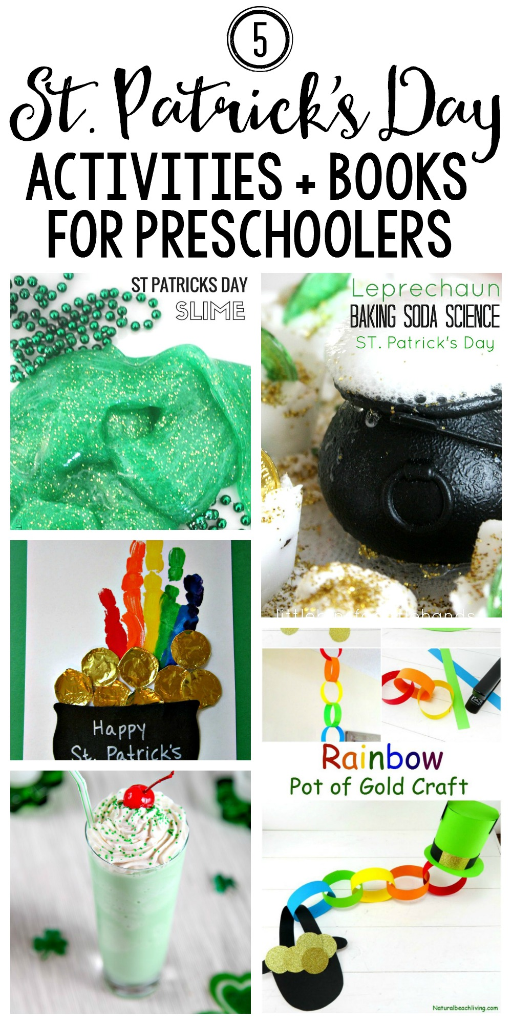 5 St. Patrick's Day Activities for Preschoolers + Fun Coordinating Books