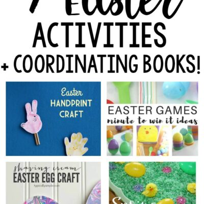 7 Coordinating Easter Activities & Books for Kids