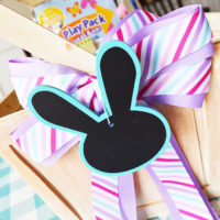 Easter Basket Hunt Idea with Printable Clues!