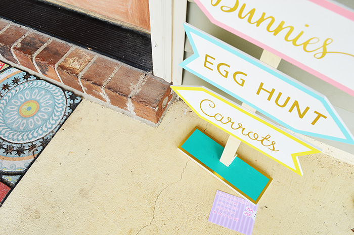 Easter Basket Hunt with Printable Clues