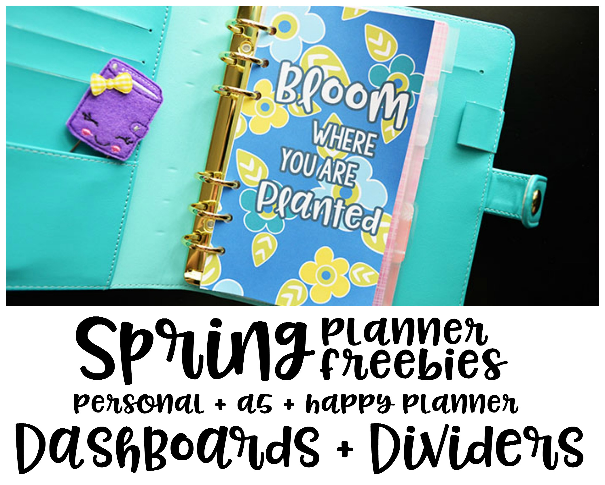Spring Planner Freebies