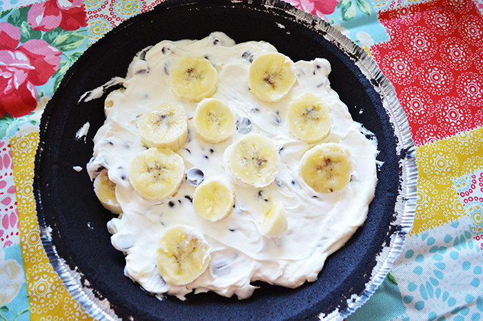 Chunky Monkey Banana Cheesecake