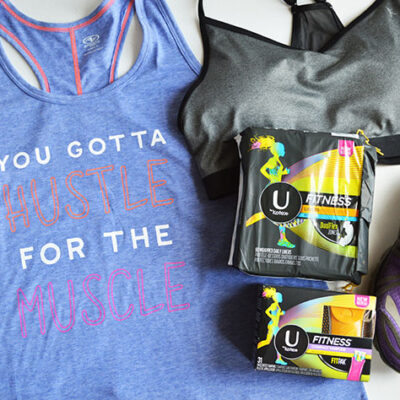 Don't Let Aunt Flo Mess With Your Fitness Goals + Giveaway
