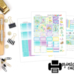 New Free Printable Weekly Sticker Kit- Mermaids!