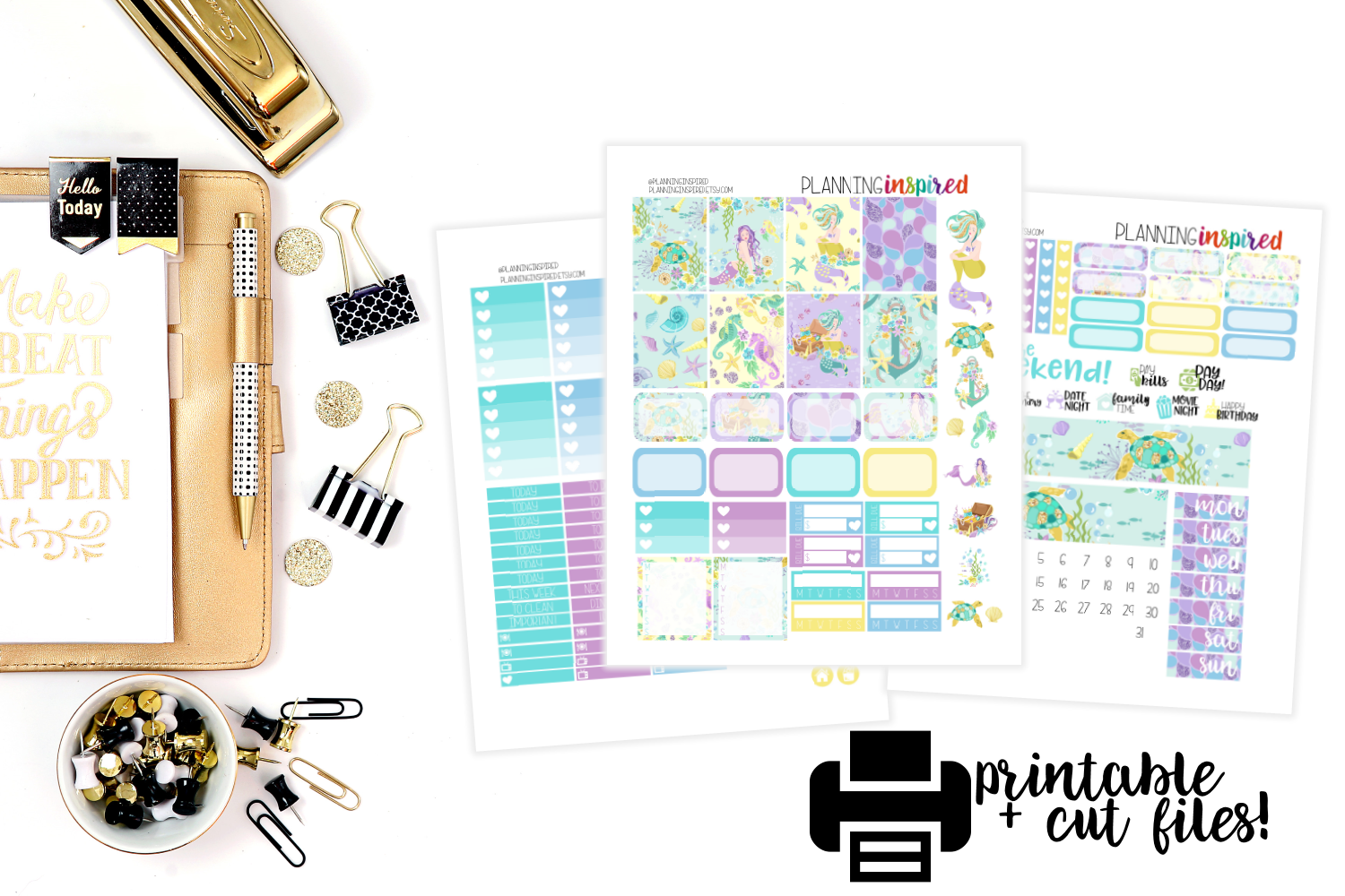 Free Printable Sticker Kits