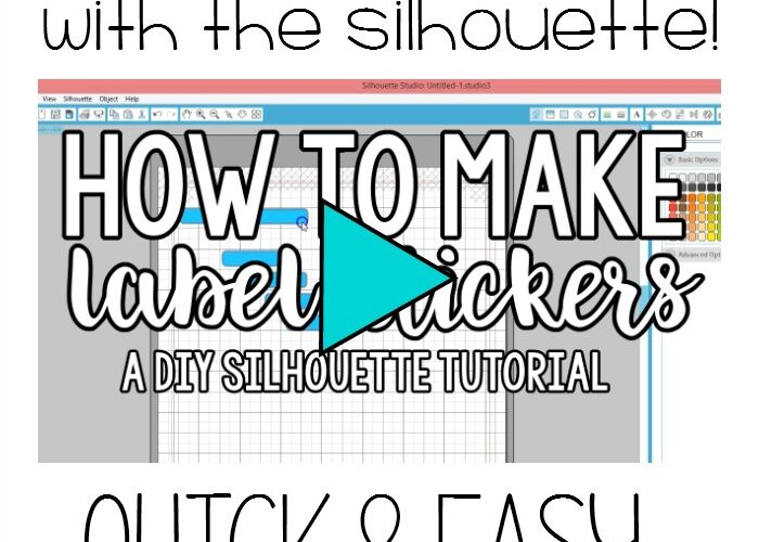 How to Make Planner Stickers with the Silhouette – Easy Label Tutorial
