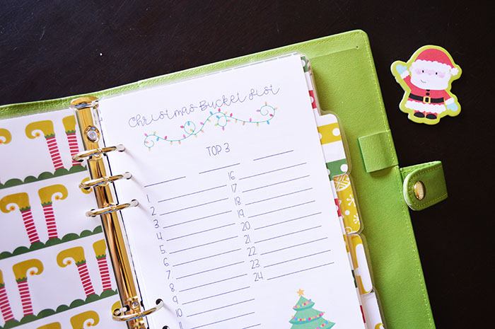 image about Free Printable Christmas Planner identified as My Xmas Planner Set up + No cost Printable Xmas