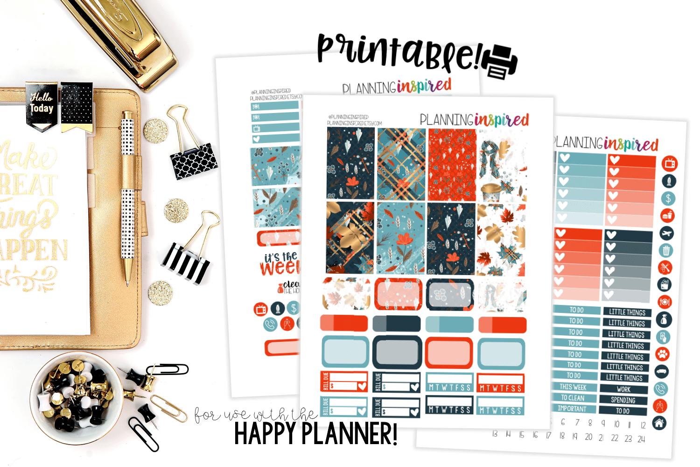 Scarf Kit - Happy Planner