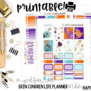 Printable Planner Stickers Recap – November