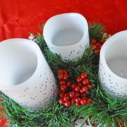 DIY Holiday Centerpiece on a Budget