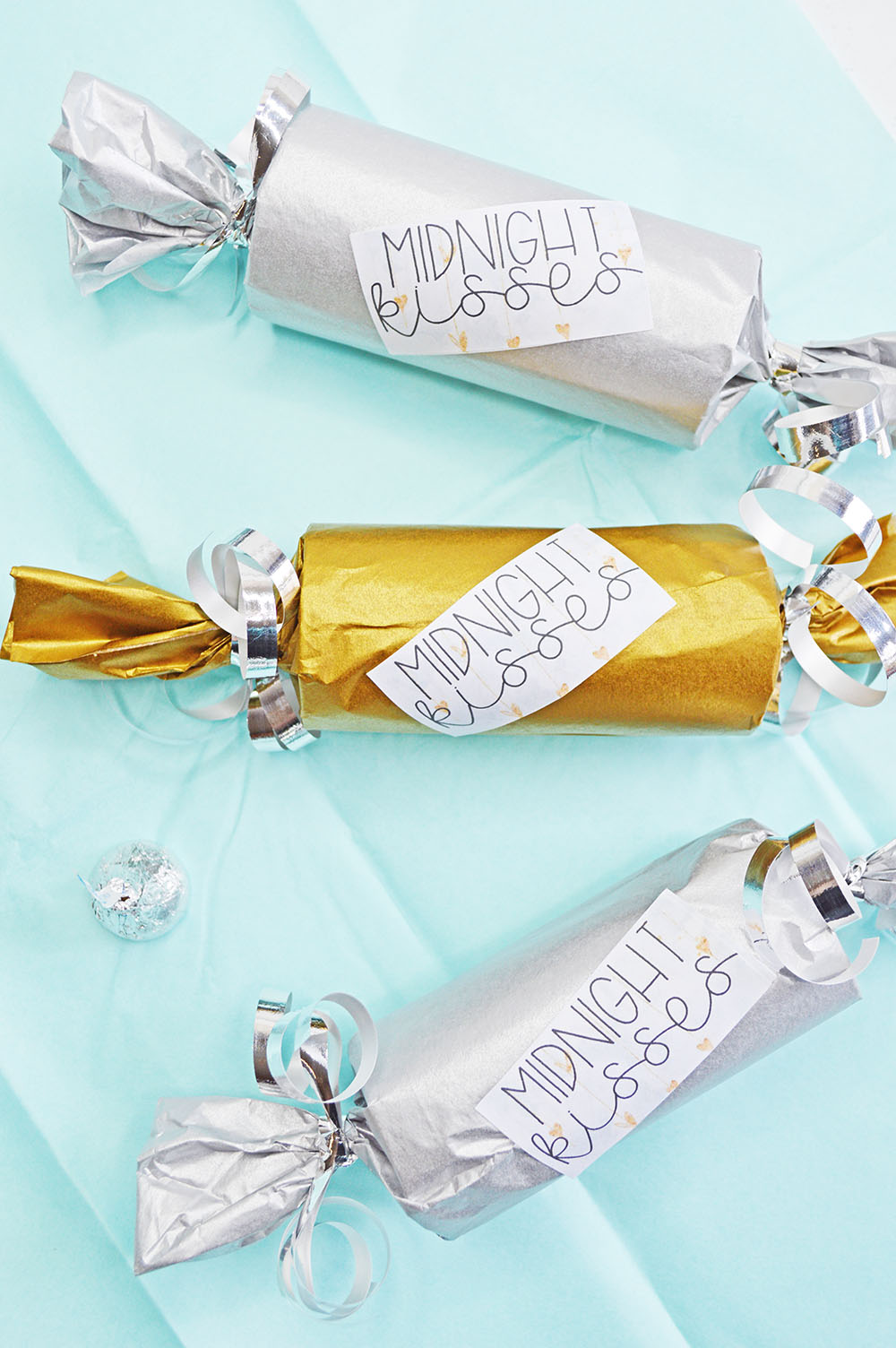 Midnight Kisses DIY New Years Eve Party Favor - Planning ...