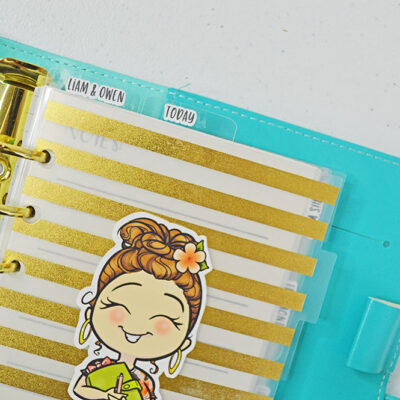 How to Print and Cut Labels for Your Planner Tab Dividers