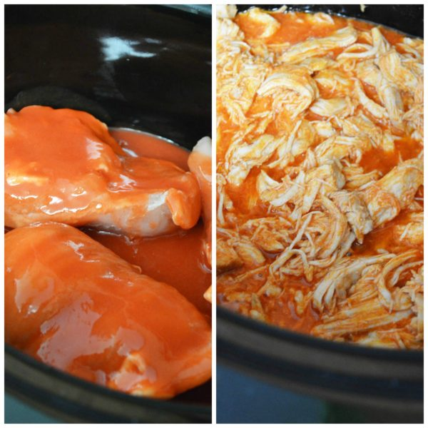 buffalo chicken in the crock pot