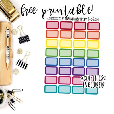 free printable stickers archives planning inspired
