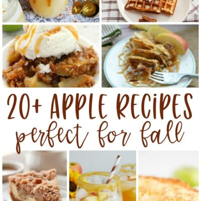 20+ Apple Recipes, Perfect for Fall