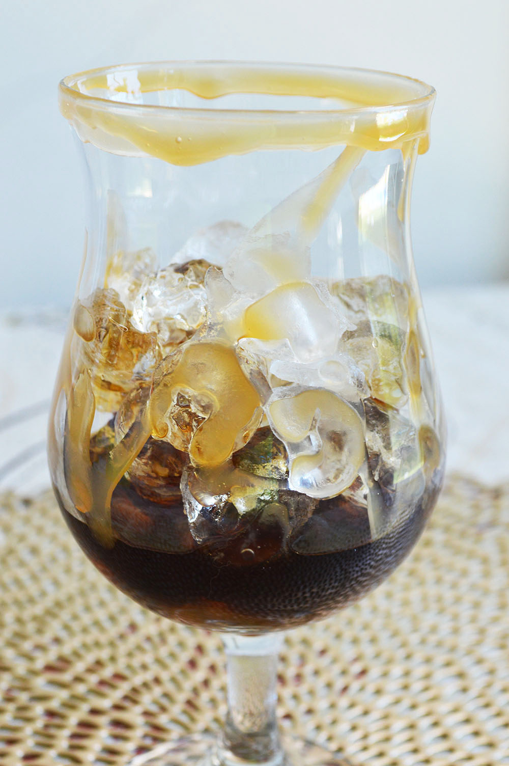 Salted Caramel White Russians