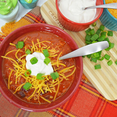 Chorizo Chili | Meatless Monday Idea